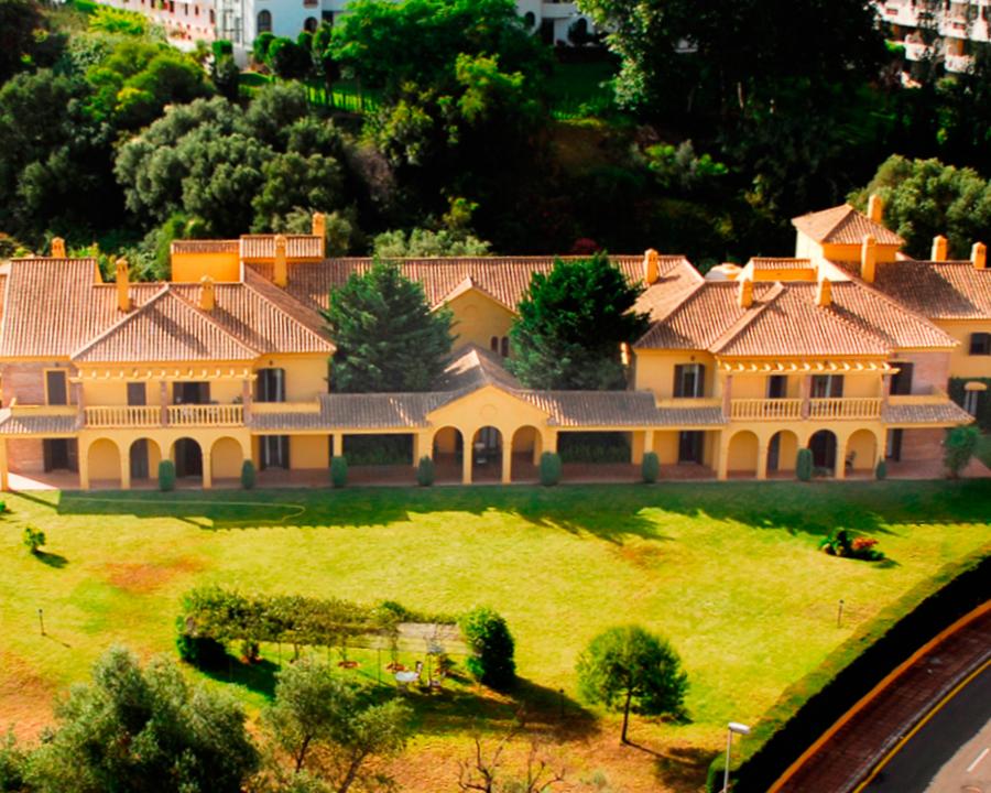 vista de pajaro residencia marbella