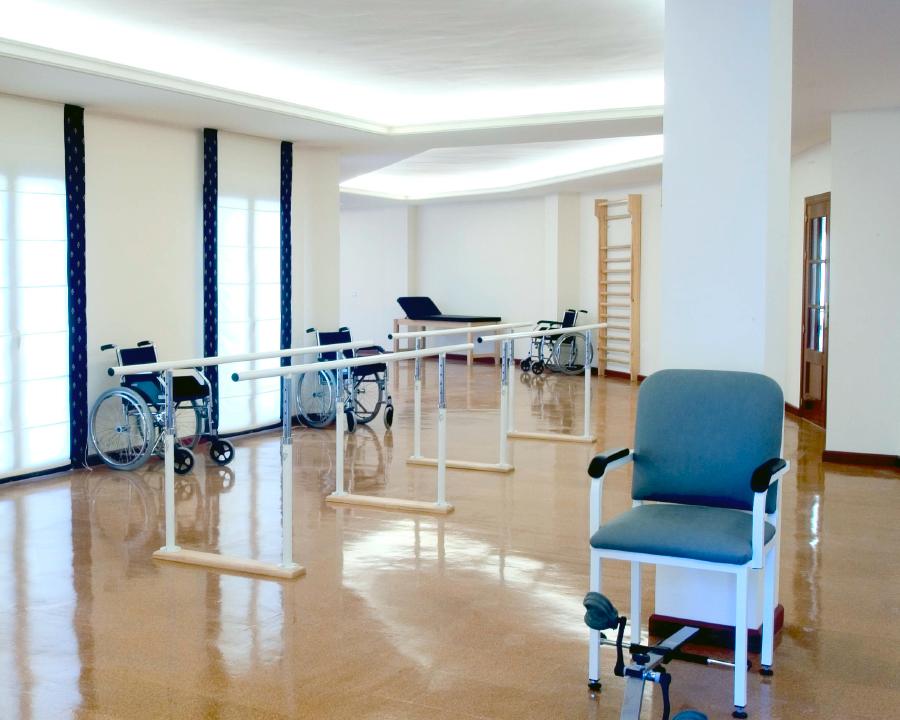 sala ejercicio residencia para mayores