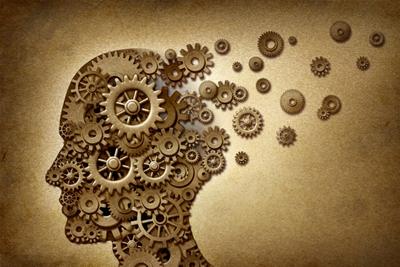 Imagen simbólica del cerebro humano