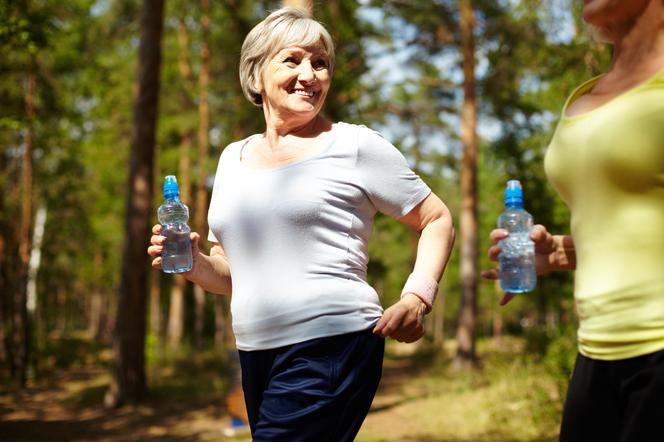 Hidratación en la tercera edad