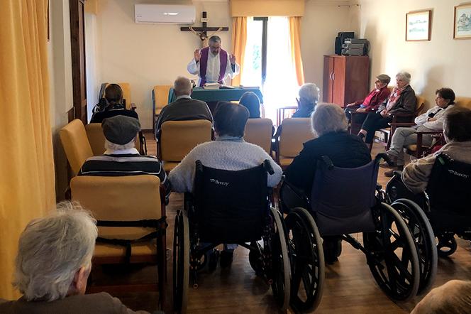 Cuaresma en Seniors Residencias