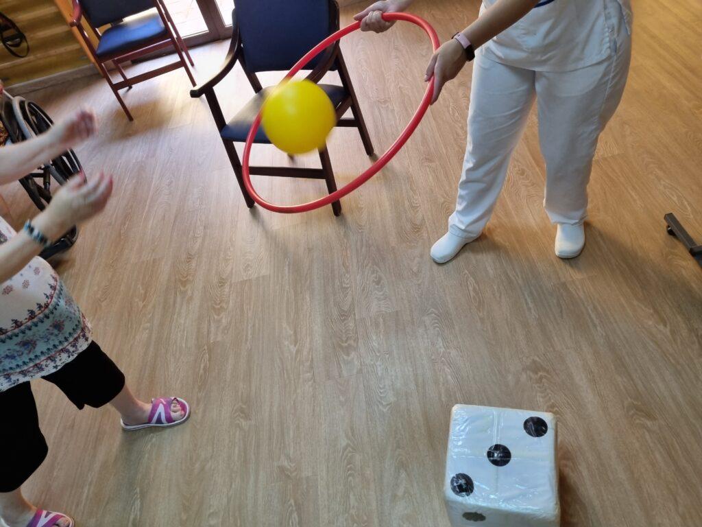 Gymkana en verano en Seniors